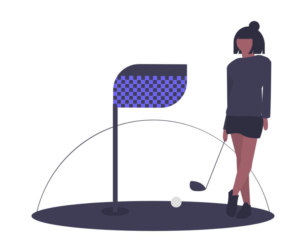 就活 ゴルフ